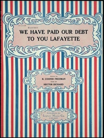 Lafayette Paid Debt LC 1919