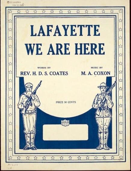 Lafayette We are Herd 1919 LC