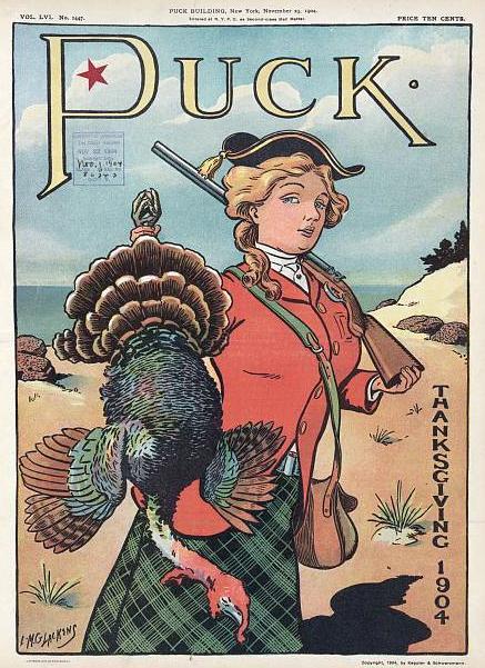 Thanksgiving 1904 Puck