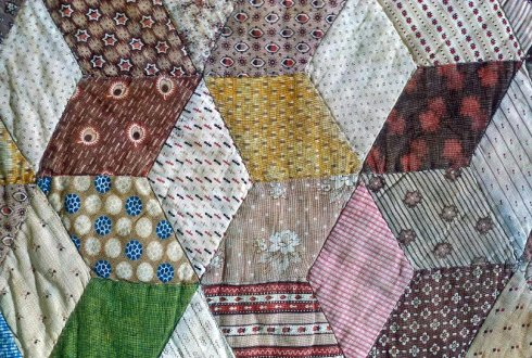 Tumbling Blacks Quilt crop NMAH