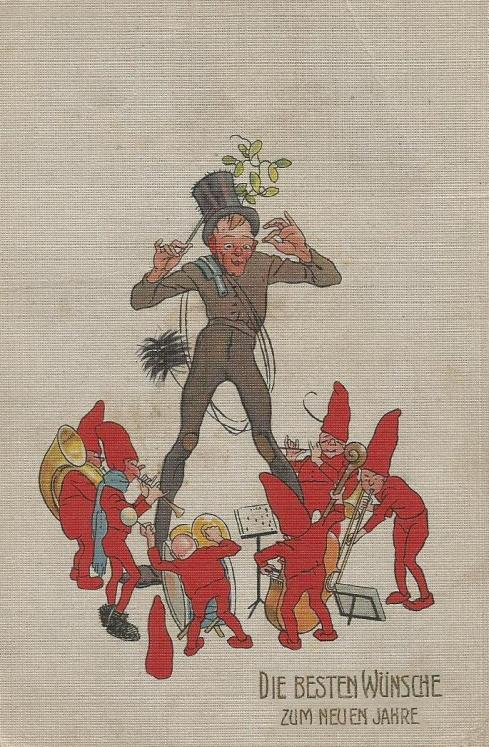 Chimney Sweep Gnomes Card