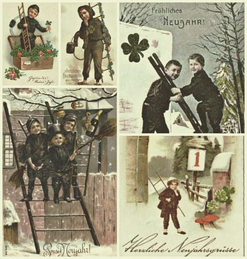 Chimney Cleaners Flora  Chimney Sweeps Postcards