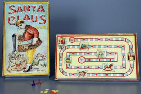 Christmas Games Santa Claus Parker Brothers