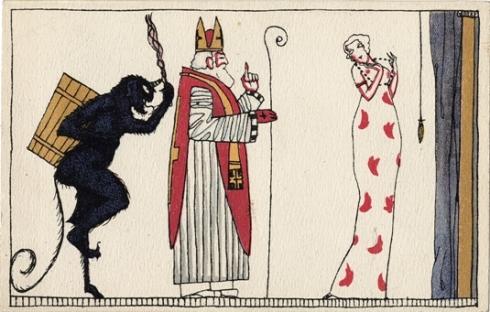 Krampus and St. Nicholas WW 3