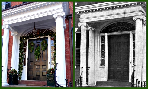 Nichols House Collage
