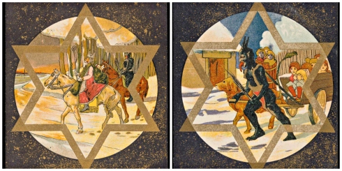 Saint Nicholas and Krampas