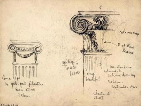 SS Hirschmann Columns Sketch
