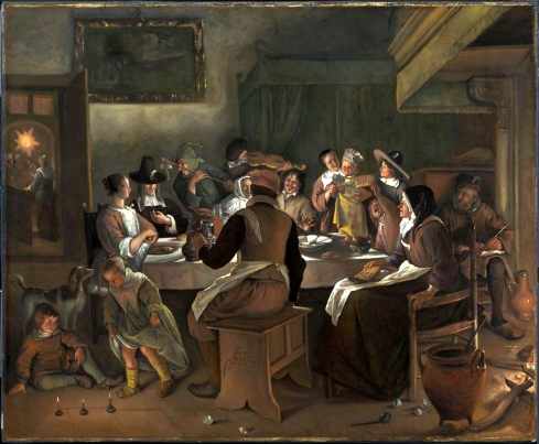 Twelfth Night Feast 1662