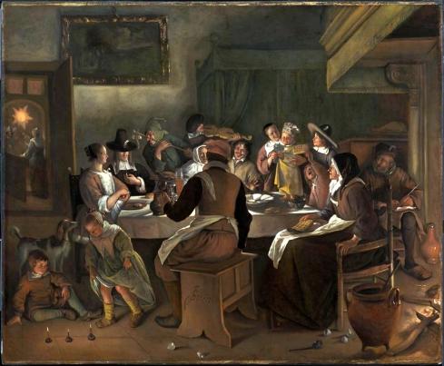 Twelfth Night Feast 1662