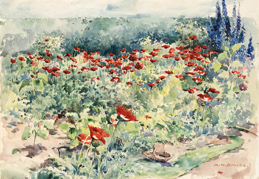 Brooks Garden Poppies