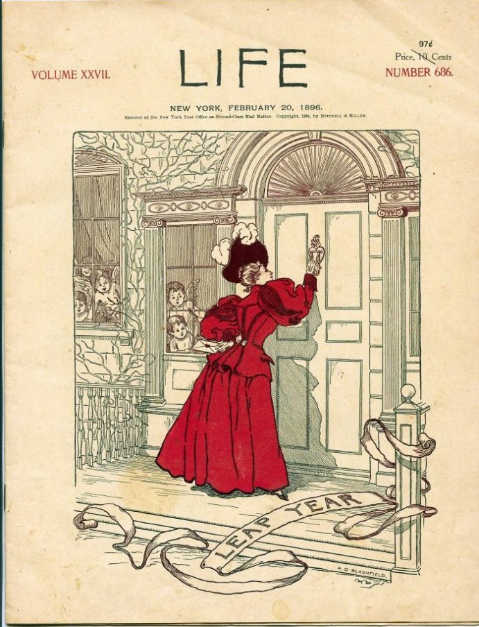 Leap Year Life 1896 Cover