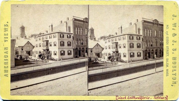 Stereoview Ward Golthwaite Co Salem