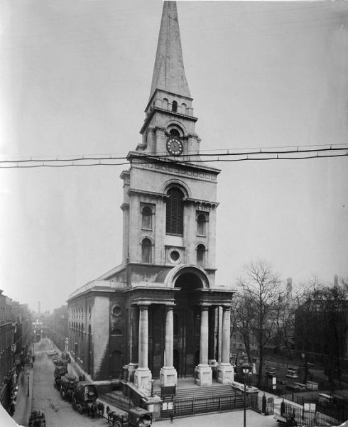 Christ Church Spitalfields 1909