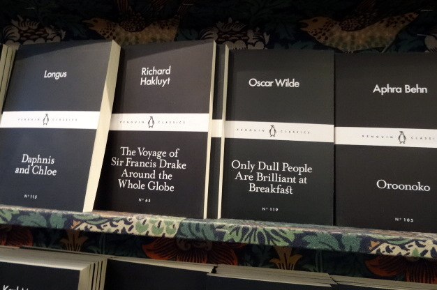 Daunt Books Display
