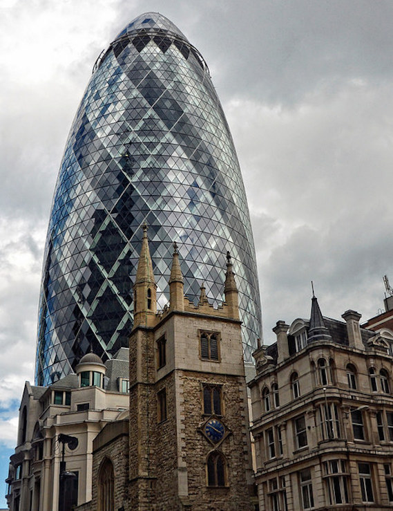 Gherkin and St. Andrews