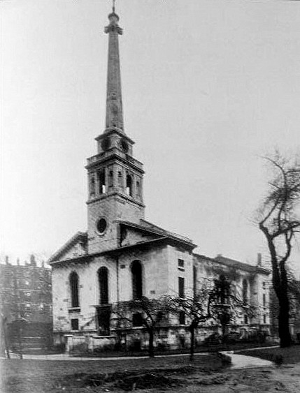 Hawksmoors lost church Bermondsey