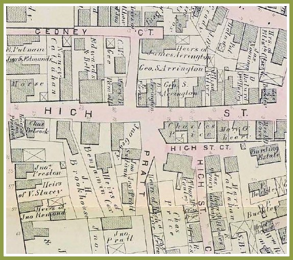 High Street 1874 Atlas