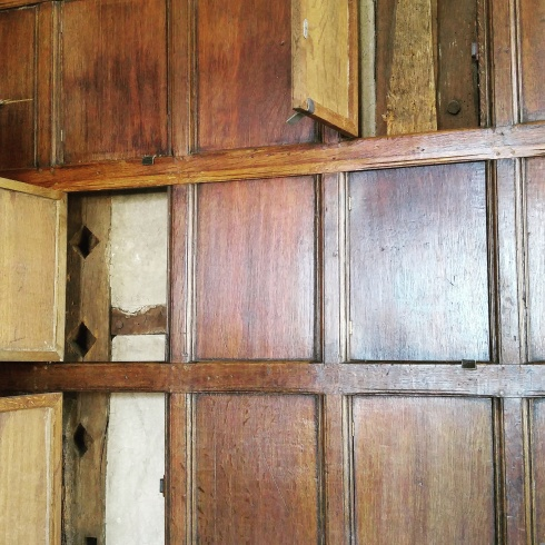 Sutton House plain paneling
