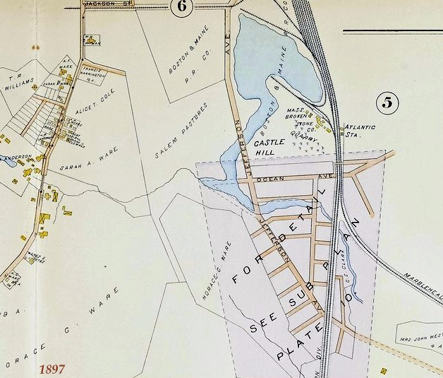 Castle Hill Map 1897
