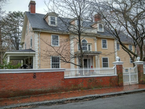 Machado Kelsey House One Pickering Street Salem
