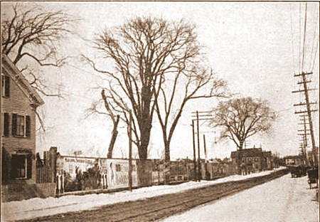 Salem 1912 Billboards on Bridge Street