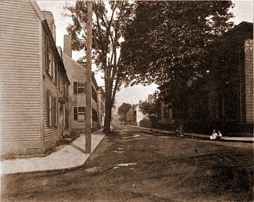 Salem 1912 Lynde Street from North St