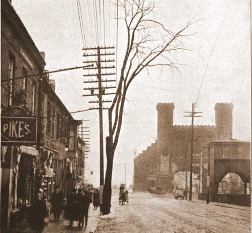 Salem Train Depot 1912
