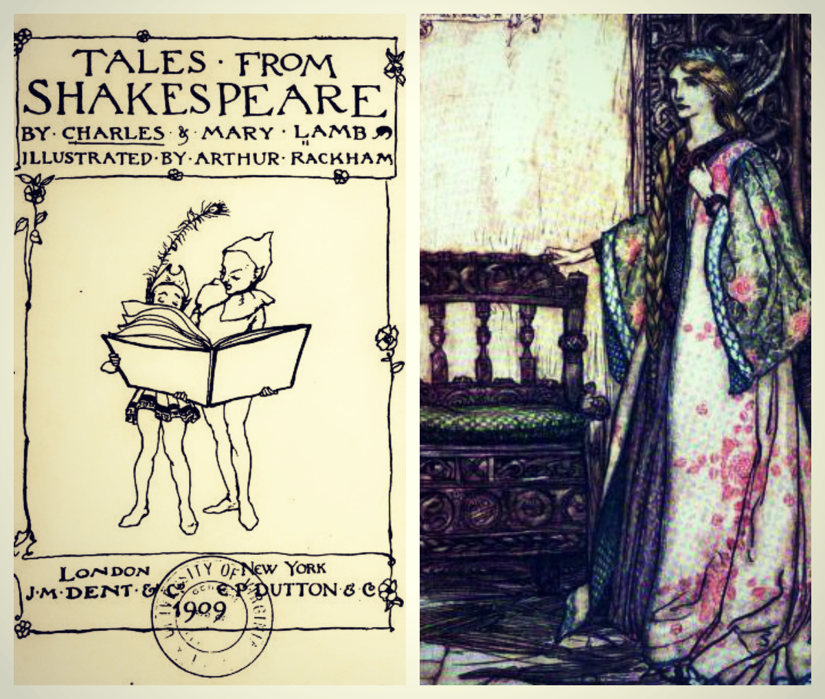 Tales Rackham Collage