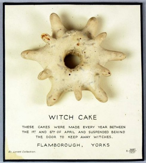 Witch cakes in April Card