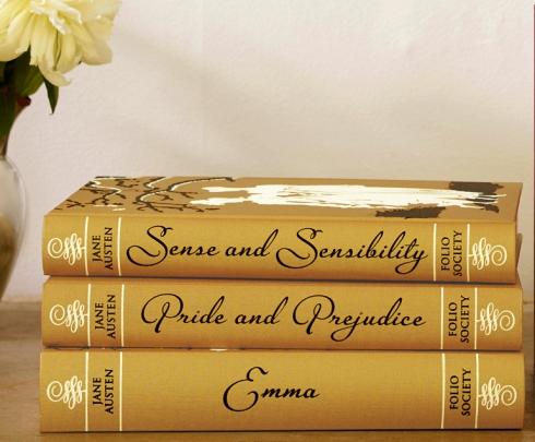Austens Folio Society stack