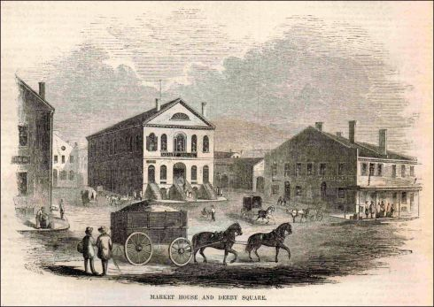 Derby Square 1855 Harpers