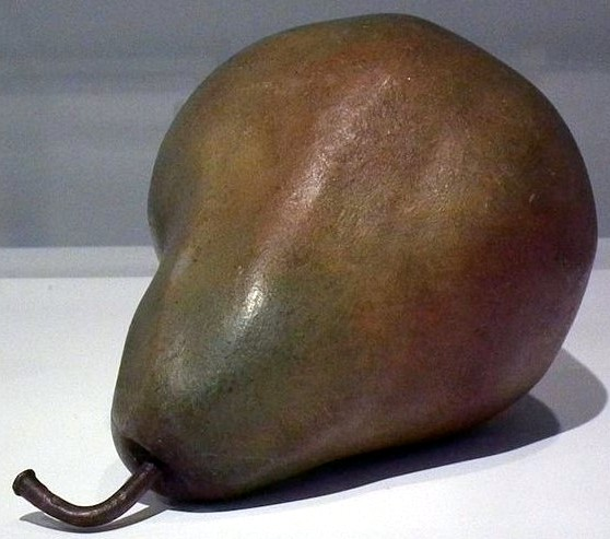 Pear Carving McIntire PEM