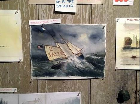 Shreve Studio wall