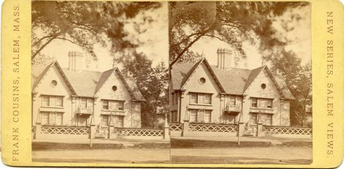 Stereoview Pickering House Cousins 1876