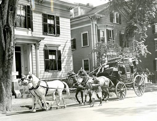 Chestnut Streets Days 1939 carriage SSU