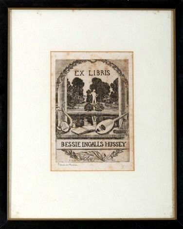 Hussey bookplate Benson