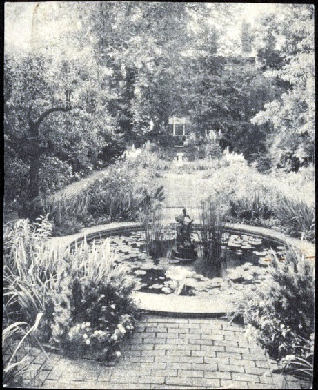 Hussey garden rear view 1930s