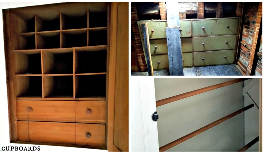 Restoration Collage Cupboards