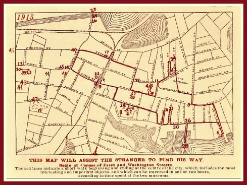 What to see in Salem map 1915