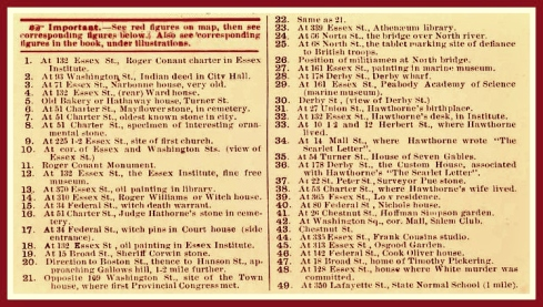 What to see in Salem text 1915