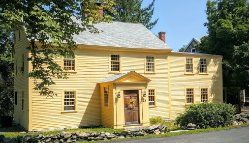 Harvard Colonial House