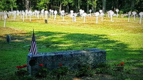 Shaker Cemetery Stone