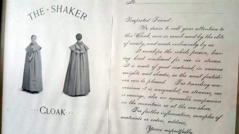 Shaker Cloak