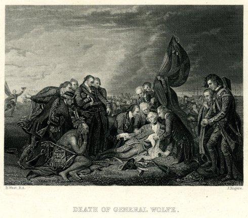 death-of-general-wolfe-john-rogers-1830