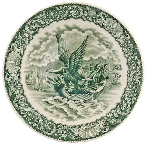 eagle-riding-on-a-shell-saucer