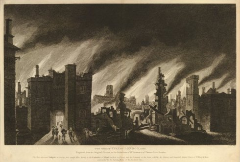 Fire of London print BM after Griffier2 BM