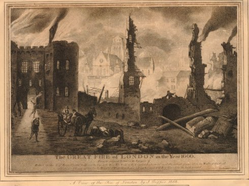 Fire of London print BM Griffier