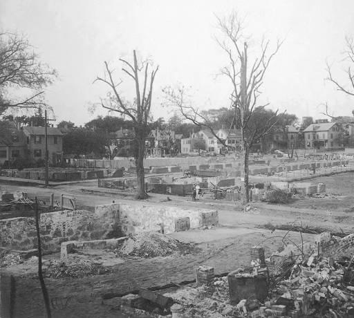 Orne Square Ruins