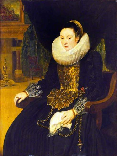de Vos, Cornelis, c.1584-1651; Portrait of a Lady