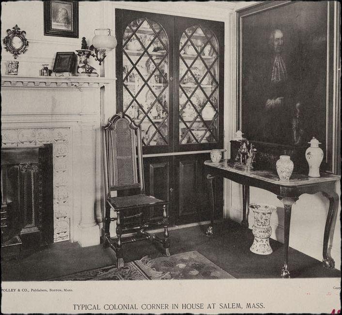 Attractive Salem Interiors 1896 Colonial Corner